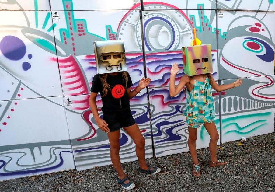 We are the robots, taller de Montana Colors a FiraTàrrega 2016