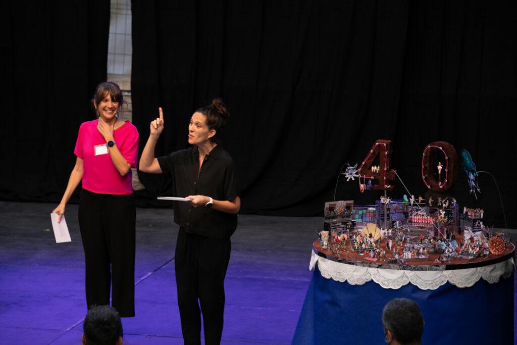 Acte celebració 40è aniversari FiraTàrrega. Foto: Núria Boleda
